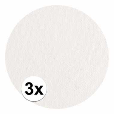 3x superstar schmink wit 16 gram