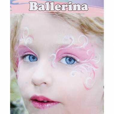 Ballerina schminken schminkset 6 delig
