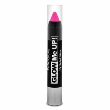 Glow the dark make up stift roze