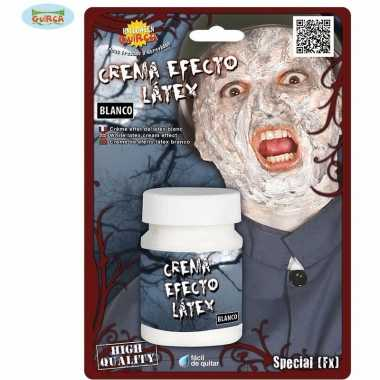 Halloween latex effect creme make up
