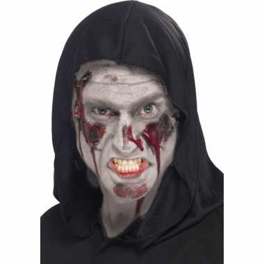 Halloween Witte zombie wonden schmink 28 ml