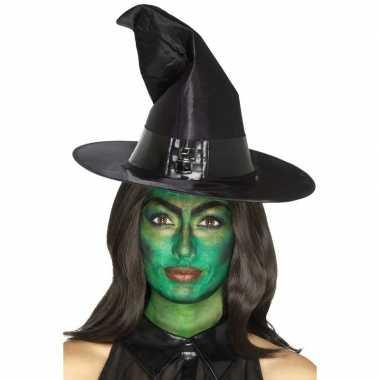 Heksen schmink set groen