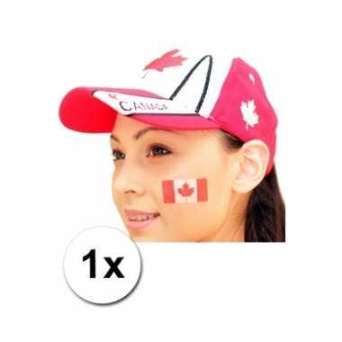 Landen vlag tattoo canada