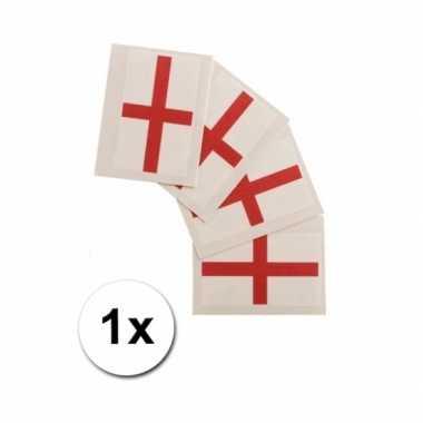 Landen vlag tattoo engeland