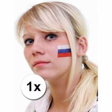 Landen vlag tattoo rusland