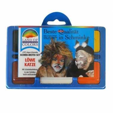 Schminkset leeuw