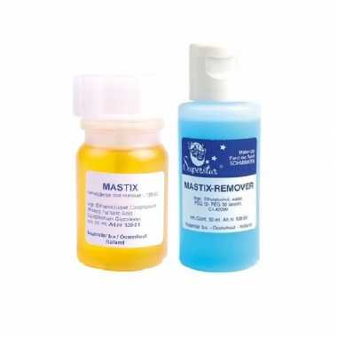 Superstar mastix huidlijm 50 ml remover 50 ml