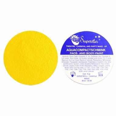 Superstar schmink geel