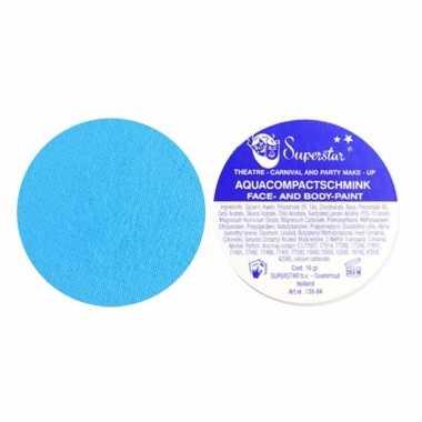 Superstar schmink pastel blauw