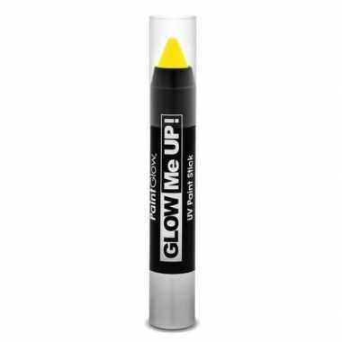 Uv make up stift neon geel
