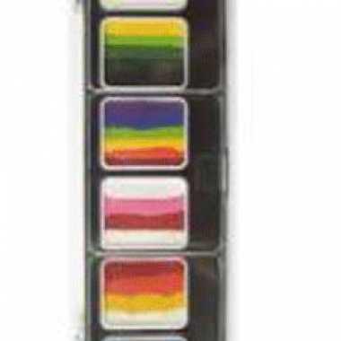 Verschillende kleuren schminkpalet
