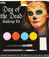 Day of the dead schmink set dames