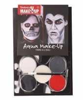 Halloween zombie schmink set