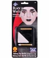 Mime pierrot schmink make up setje