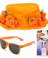Oranje supporters verkleed set 10277730
